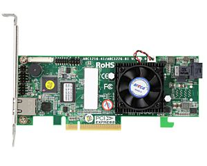ARC-1216-4i An internal four (4) port RAID PCIe V.3 with SFF8643 connector