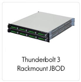 Thunderbolt 3 Rackmount RAID product line