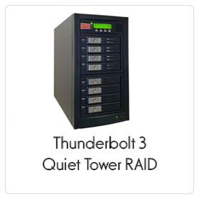 Thunderbolt 3 Quiet Tower RAID