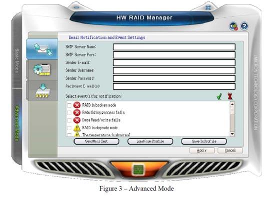 RAID50 T10HR50 Email Notification
